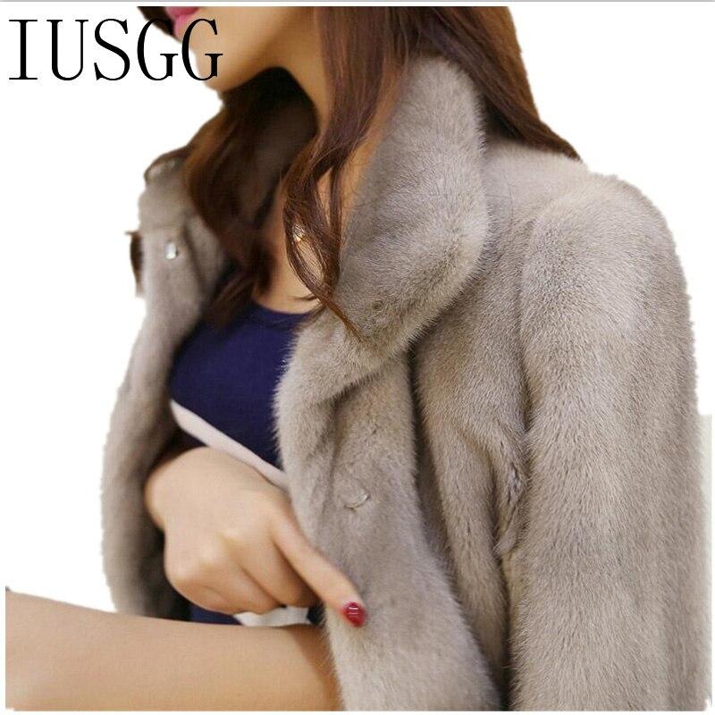 US $208.05 5% OFF|Nerz Kaschmir Mäntel Lange Jacke Stehkragen Warme Weiß Nerz Mantel Junge Frauen Nerz Velent Pelzmantel Natürliche Schwarz Mantel in