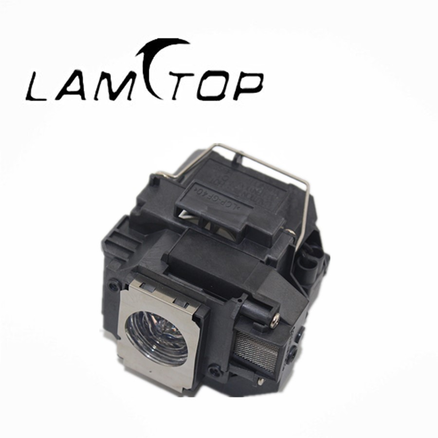 FREE SHIPPING  LAMTOP  180 days warranty  projector lamps with housing  ELPLP55/V13H010L55  for  EB-W8D free shipping new projector lamps bulbs elplp55 v13h010l55 for epson eb w8d eb dm30 etc