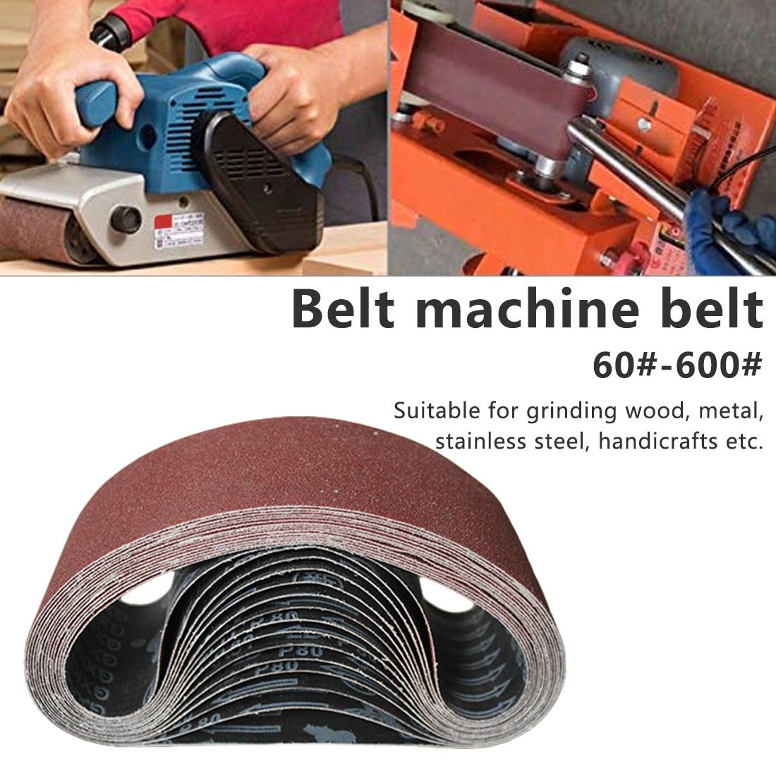 Abrasive Sanding Belts  P60-600 Coarse To Fine Grinding Belt Grinder Accessories 915*93mm