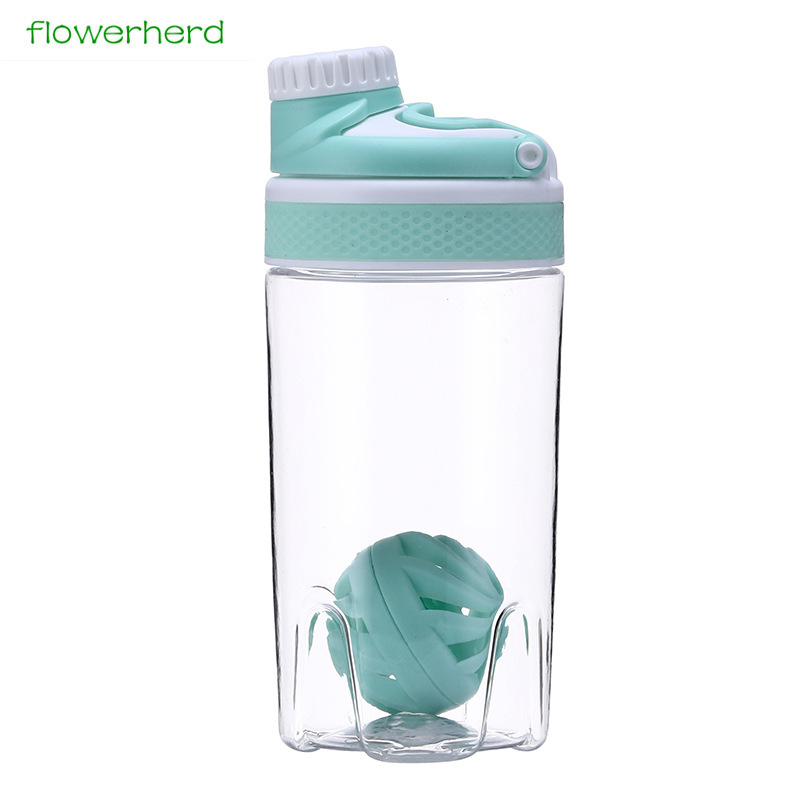 550ml/700ml Protein Powder Shake Water Bottle Portable Motion Whisk Ball Blender Cup Bpa Free Plastic For Sports 20oz/25oz-in Water Bottles from Home & Garden on AliExpress