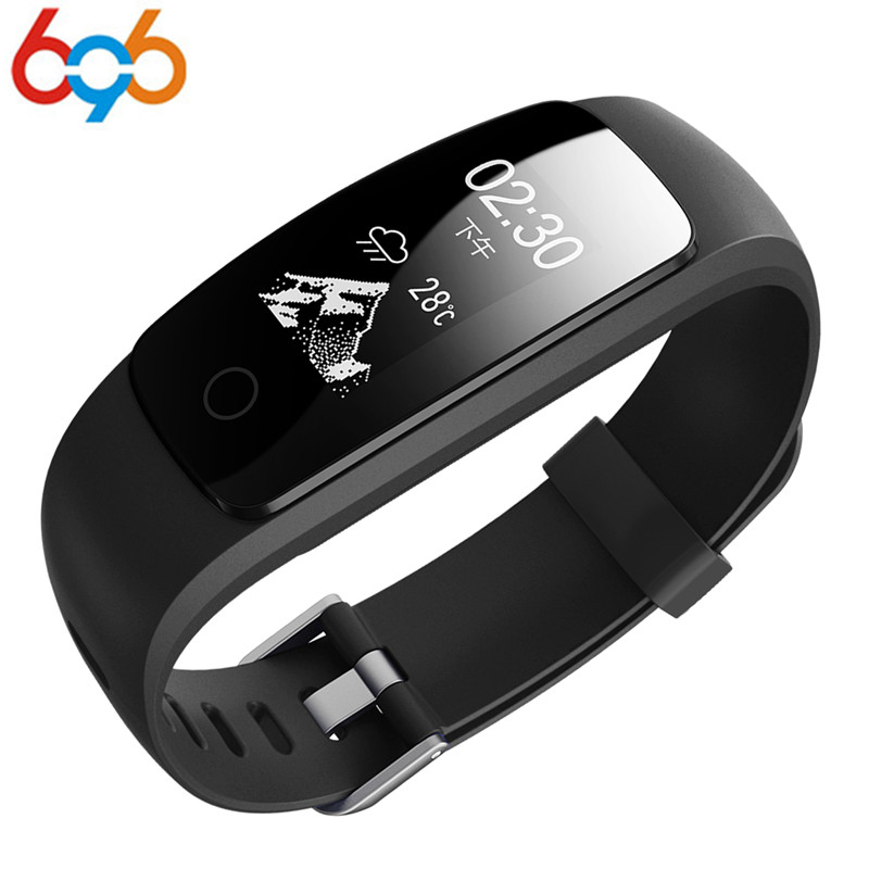 696 ID 107 ID107 Plus HR Smart Bracelet Activity Tracker Pulsometer watch Heart Rate GPS Smart Band sport tester pk mi band 2