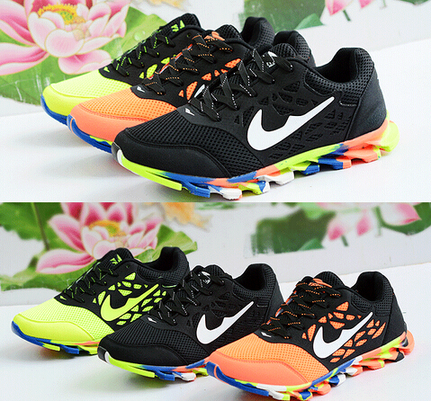 2015 hot sale men shoes High quality running shoes spring blade Series with  breathable Sports shoes free Shipping b855e936ca64