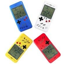 Nova Chegada 99 em 1 Portátil Game Console, Handheld com Battle City/Tetris/Carro de Corrida/Pavestones/Tiro/Frogger etc.