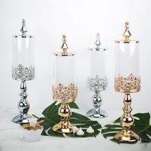 Şekerlik düğün tatlı masa dekorasyon dekorasyon şekerlik cam şeker kavanozu aperatif bisküvi depolama depolama tankı