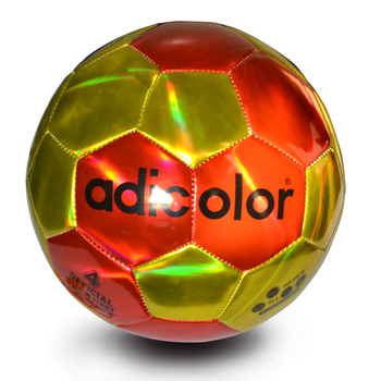 Gold Red Laser Light adicolor Football Training and Recreation Soccer Ball Children Game Train Balls Children Kids Size 4 soccer balls size 4
