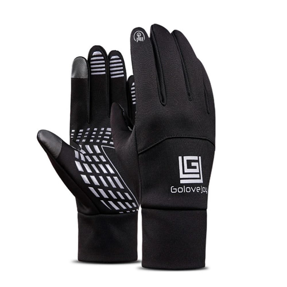 Waterproof Fleece Men Women Ski Gloves Wind-proof Thermal Touch Screen Outdoor Sport Cycling Snowboard Gloves