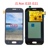 OLED TFT screen For Samsung Galaxy J1 Ace J111 J111F J111M J111FN LCD Display Screen Digitizer Assembly Replacement