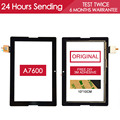 Original Tested 10.1 inch Touch Screen For Lenovo a7600 Touch screen Glass Panlel Replacment Parts a10-70 Free Adhesive