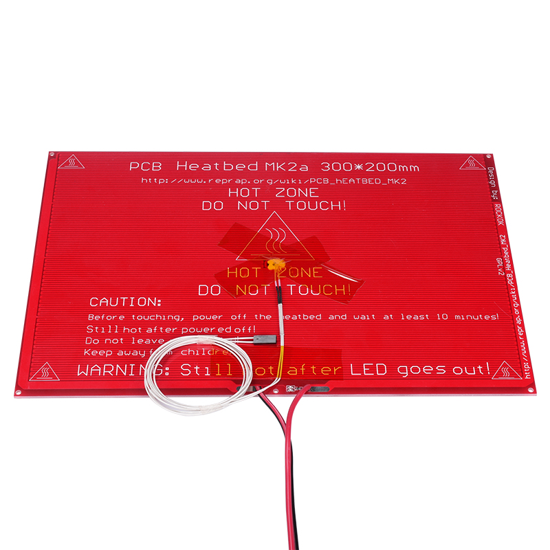 3d printer parts 300 200 2 0 MK2A MK2B RepRap RAMPS 1 4 Heatbed MK2A with