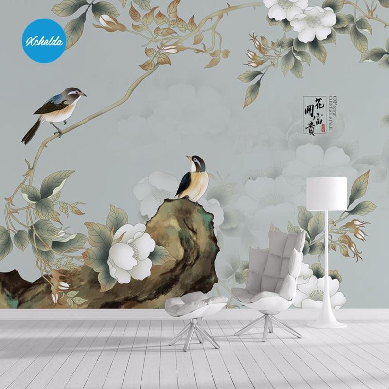 Buy bird design wallpaper and get