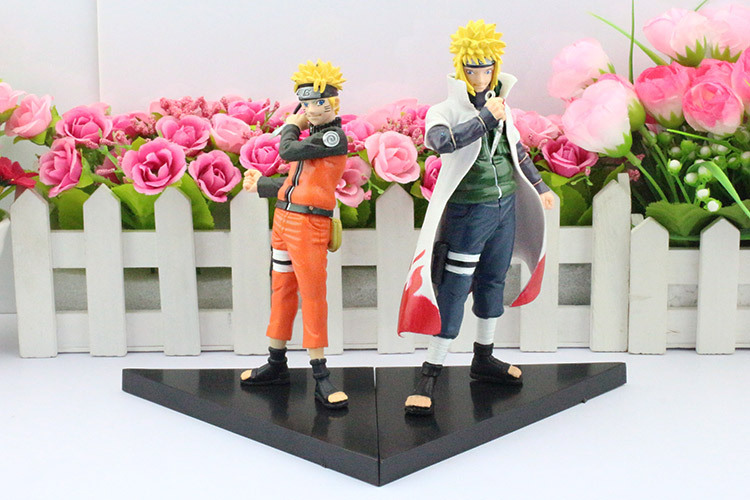 Minato Figure And Naruto front