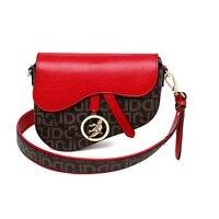 Women PVC Crossbody Bag Vintage Saddle Bag Handbag Brand Messenger shoulder Bag sac a main Lady Purse Evening Bags bolso mujer