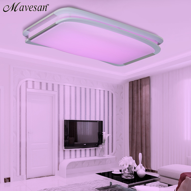 2018 Modern Ceiling Lights bedroom remote or switch Ceiling lamps ...