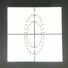 1 шт. Резиновый Шаблон плотины Стоматологическая резиновая плотина Дырокол доска пластиковый барьер позиционирования шаблон с шкалой клиника