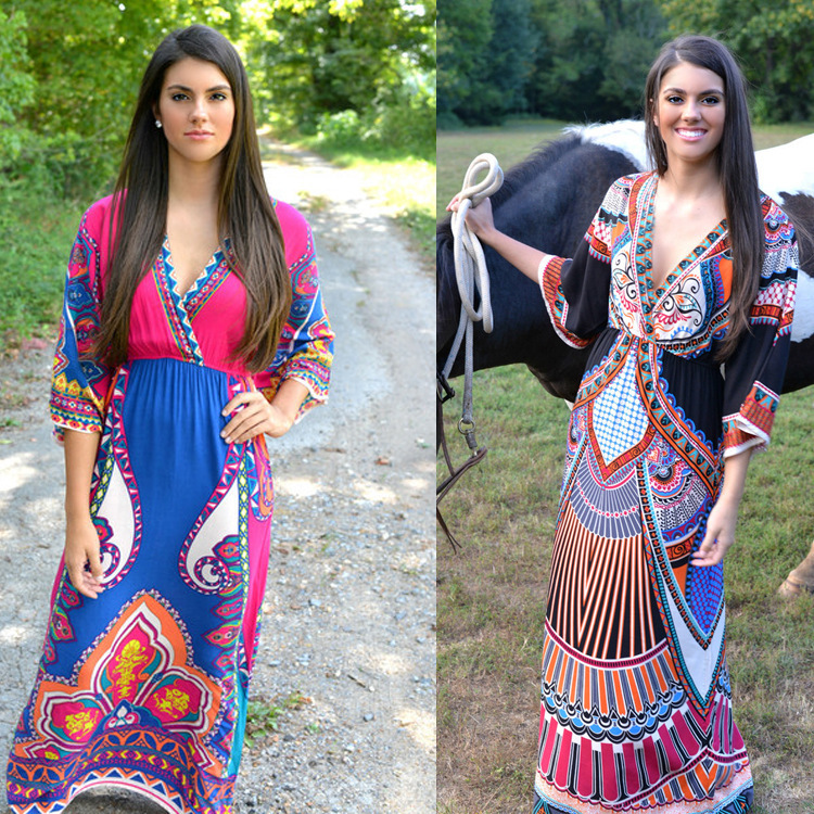 2019 Pakistan Sari India Dresses Pakistan Women Clothing New Arrival Saree Large Size Dress Skirt Beach Thailand Wind