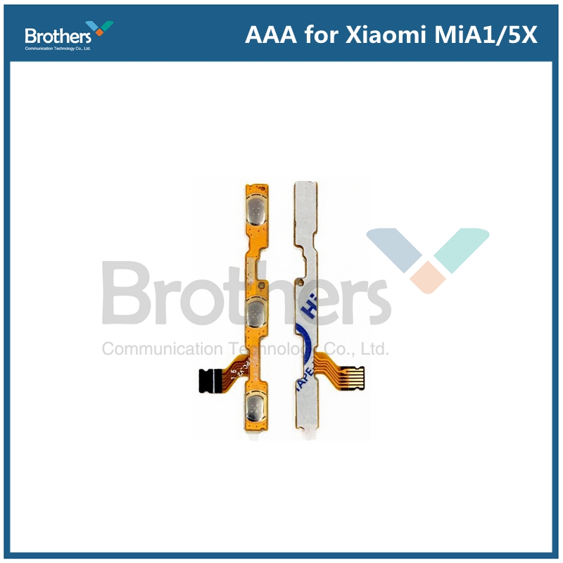Flex For Xiaomi Mi A1 5X Power On Off + Volume Up Down Button Flex Cable For Xiaomi A1 5X Phone Relacement Parts AAA 100% Work