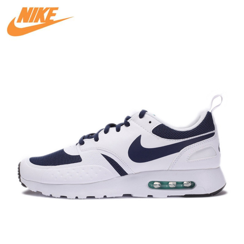 купить Nike Air Max Vision Men's Breathable Authentic New Arrival Running Shoes Sports Sneakers 918230-400 по цене 5046.41 рублей