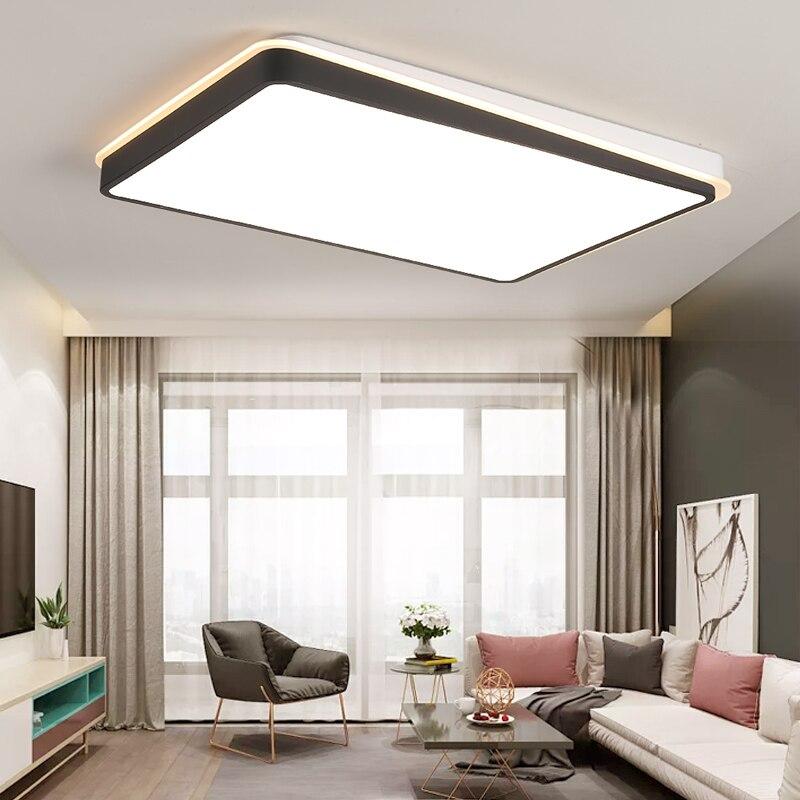 LED Ceiling Light Modern Lamp Living Room Lighting Fixture Bedroom Kitchen Surface Mount Flush Panel light Remote Control
