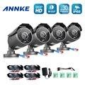 ANNKE 4 PCS AHD 960 P Câmeras de CCTV Câmera de Segurança ao ar livre indoor P2P IP66 À Prova D' Água IR Cut night Vision