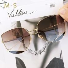 MS,, кошачий глаз, негабаритные солнцезащитные очки для женщин,, модные солнцезащитные очки, женские, брендовые, дизайнерские, Ретро стиль, солнцезащитные очки, UV400