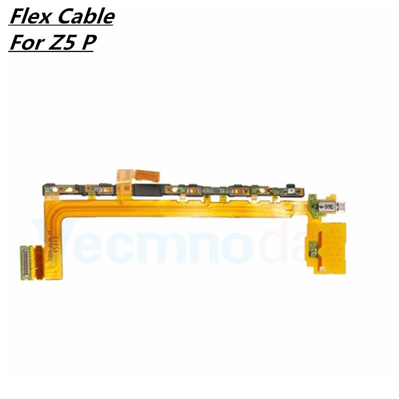 Vecmnoday Flex Cable For <font><b>Sony</b></font> Xperia <font><b>Z5</b></font> Premium <font><b>Z5</b></font>+ E6833 E6853 E6883 <font><b>Motherboard</b></font> Ribbon Replacement parts Free shipping image