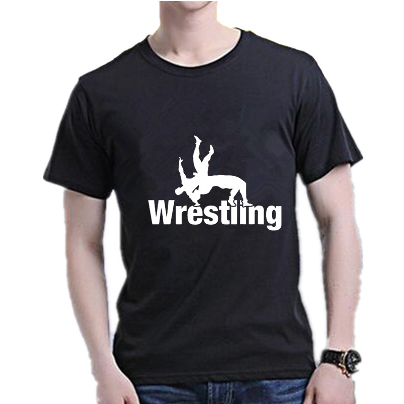 Fashion Wrestling   T     Shirt   Men Cotton Short Sleeve O-Neck Male   T  -  Shirts   Summer Casual Tshirt Mens Designer Tee   Shirt   Homme S-XXXL