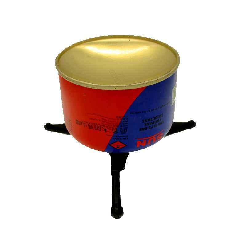 Yofeil Открытый Отдых газа резервуар плита База держатель картриджа канистра штатив Braket стойка для бутылок наклона предотвращения стенд