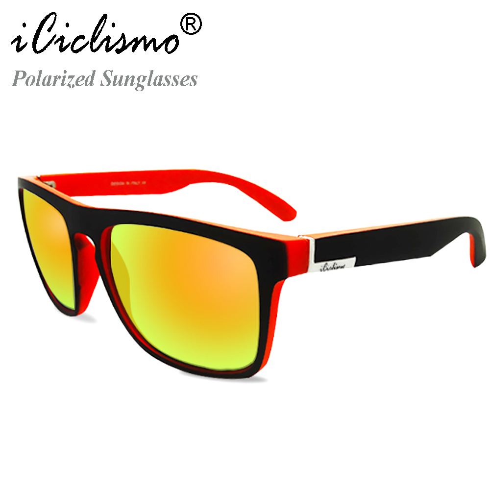 ACEXPNM Diseñador de la marca Espejo gafas de sol polarizadas - Accesorios para la ropa