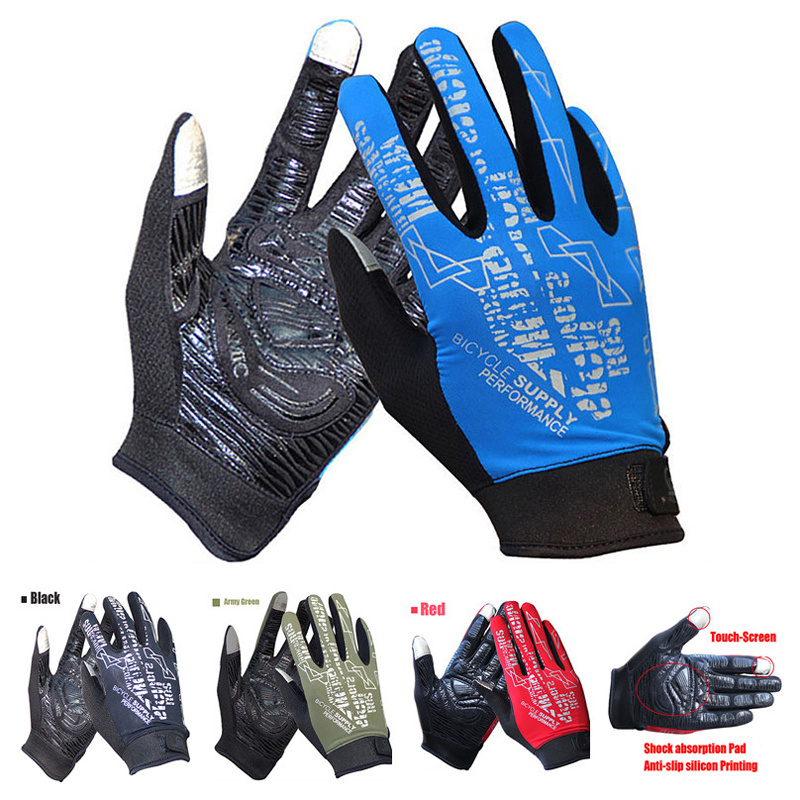UPF 50  Breathable Lightweight Spring And Summer Touch Screen Sport - Cycling