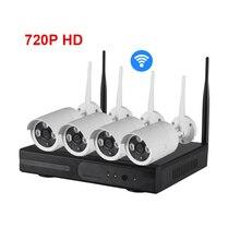 Zmodo NVR KIT 4CH 720p HD Wireless IP Camera  house cameras