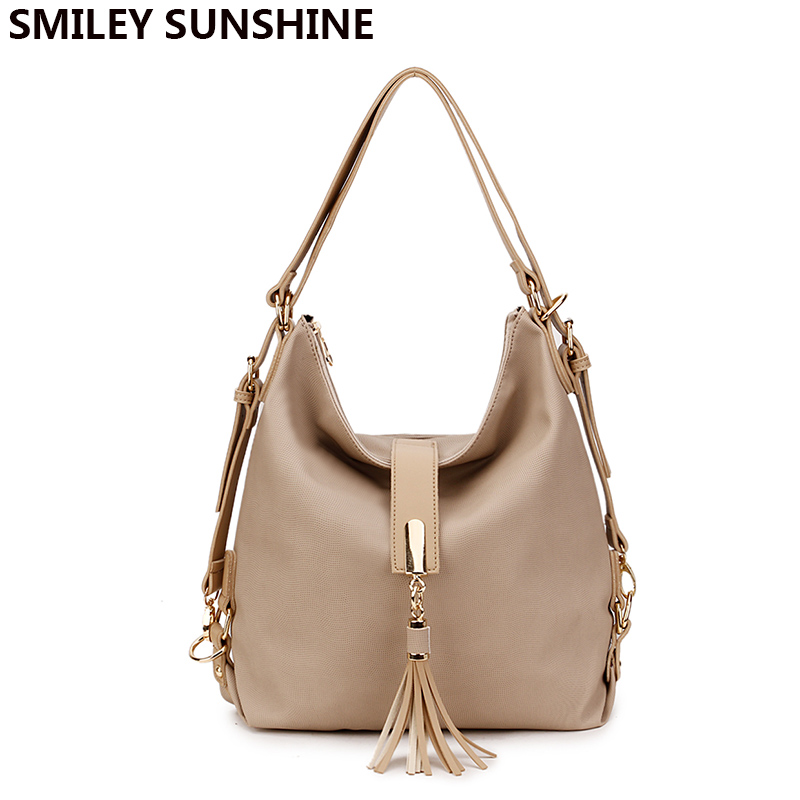 92749d0783d2 Купить Smiley Sunshine бренд Хобо женские сумки большие на плечо ...