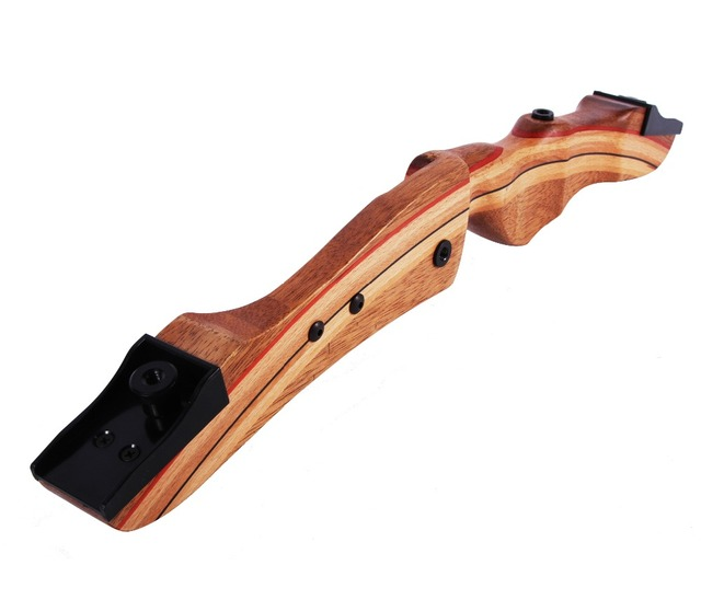 Quality Target Archery Recurve Bow, Wood Riser, Traditional Style, Left hand available