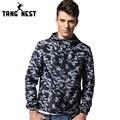 Tangnest 2017 chaquetas con capucha de los hombres ocasionales de la nueva llegada vendedora superior camuflaje chaquetas ocasionales de la chaqueta masculina otoño abrigos mwj1329