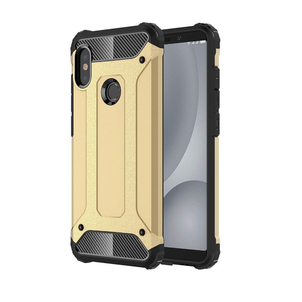 Case for Xiaomi Redmi Note 5 Pro Global A2 Case Plastic 2 in 1 Hybrid - Բջջային հեռախոսի պարագաներ և պահեստամասեր - Լուսանկար 3