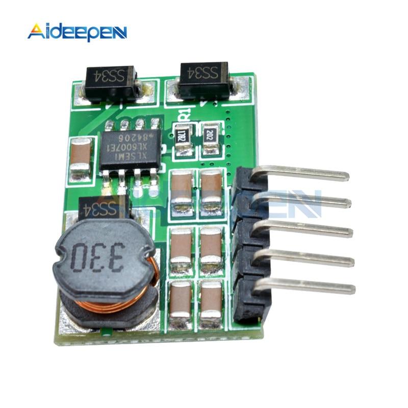 3 V-18 V to+-5V 6V 9V 12V 15V 24V 1.8A 2A положительный и отрицательный двойной Вт конвертер постоянного/переменного тока, повышающий наддува модуль Плата регулятора - Цвет: 5v with pin