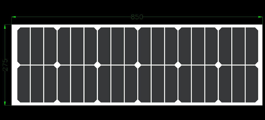 Factory price flexible solar panel 40W sun battery 12V with Back Side Connection box for 12V
