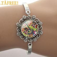 TAFREE handmade vintage mandala bracelets Sacred geometry charm yoga women buddhism jewelry religious wedding party gifts H294