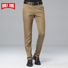 ФОТО new arrival autumn classic business casual pants men dress brand clothing mens formal male for trousers straight full length