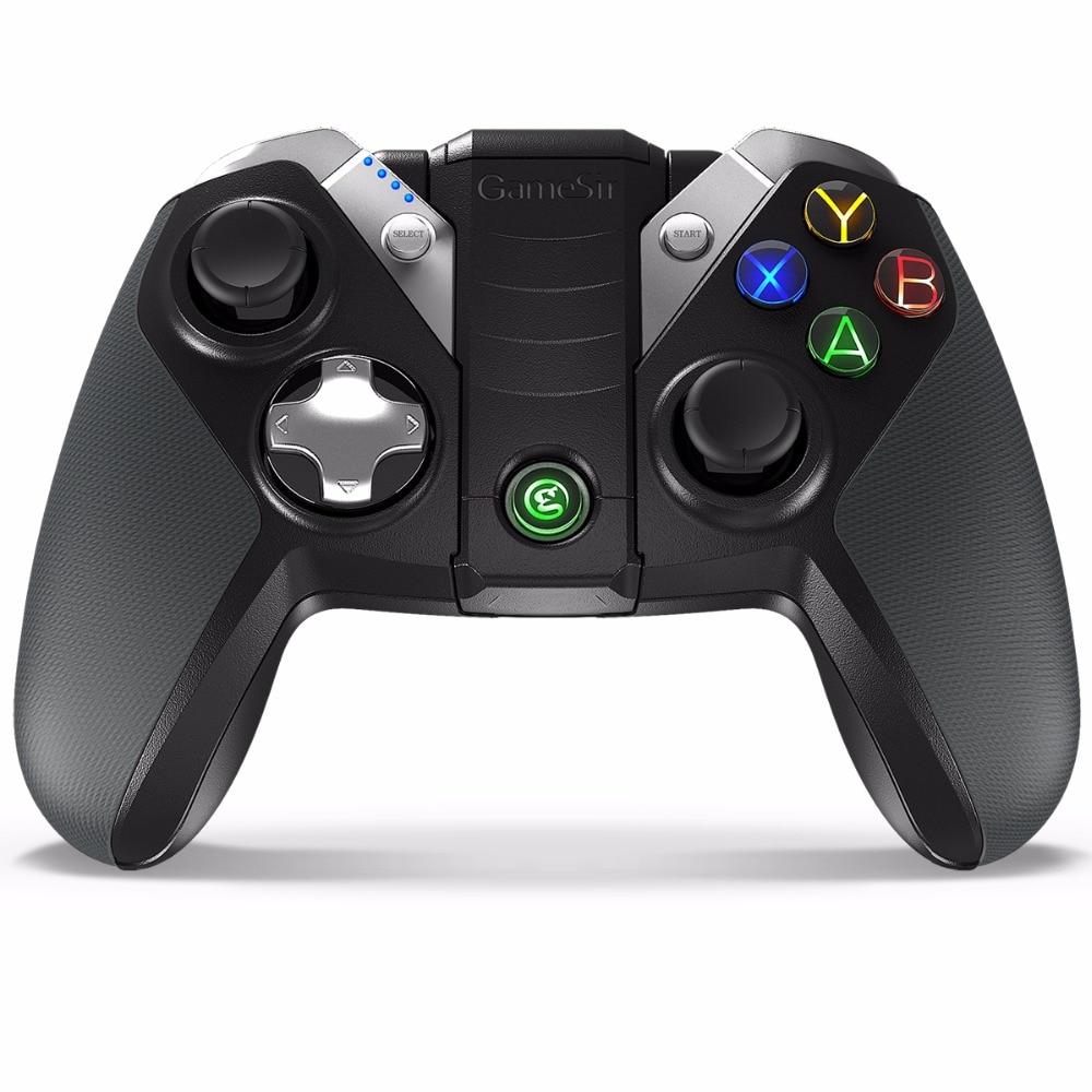 GameSir G4/G4s Bluetooth Gamepad עבור אנדרואיד טלוויזיה תיבת Smartphone Tablet אופציונלי 2.4 Ghz אלחוטי/USB Dongle מקלט