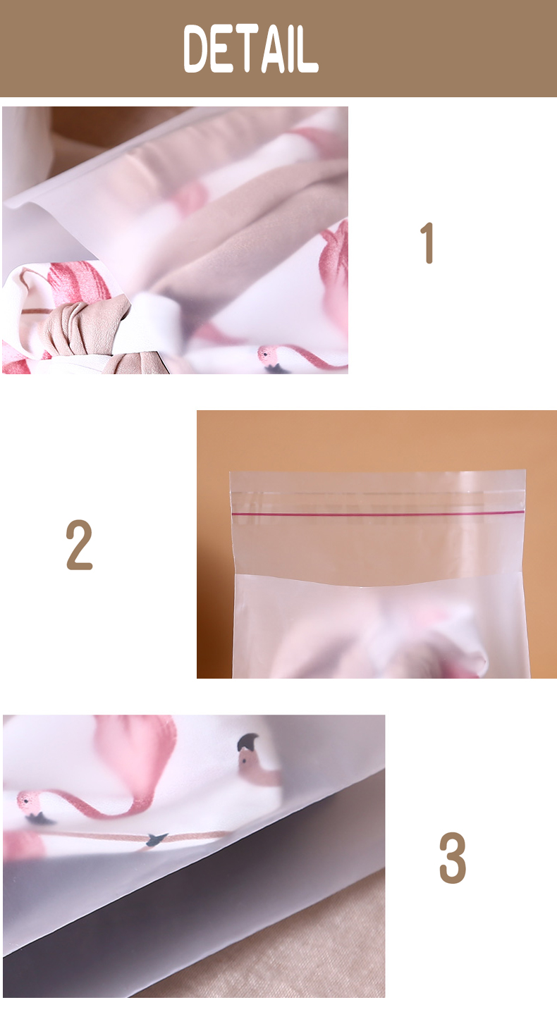 1 pe,Scrub,Matte,Frosted ,packaging,storage,self-adhesive bag,seal,cosmetics,mask paper,magazine,book,jewelry,towel,socks,panties,underwear,card,clothes,hat,shoes (3)