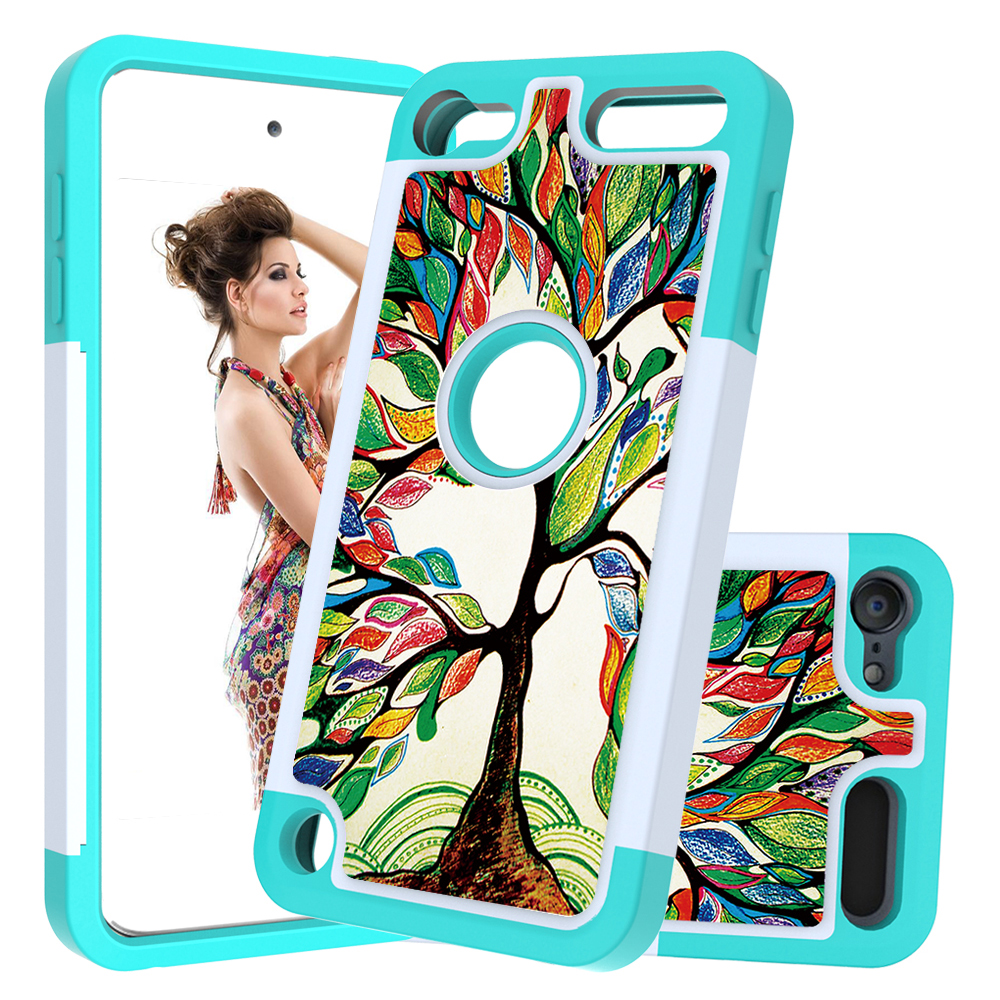 Cute Lovely Cartoon Tough Armor Case For Apple Ipod Touch 5 6 7 Gen High Impact Hard Silicone Pc Cover For Itouch 7th 6th 5th Half Wrapped Cases Aliexpress