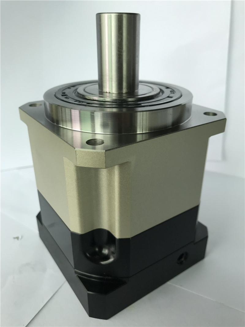 5 acrmin high Precision Helical gear planetary reducer gearbox 10:1 for 80mm 750W AC servo motor input shaft 19mm AB090-10-S2-P2