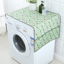 BF040 Home Multipurpose washing machine cover cloth cover towels thick dust refrigerator  130cm*55cm