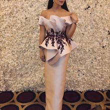 Модное формальное платье avondjurk longo аппликация выпускные