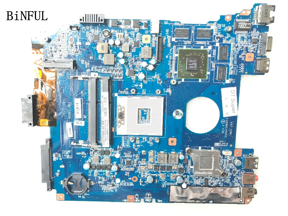 BiNFUL 100%  TESTED MBX-269 DA0HKMB6F0 FOR SONY SEV15 SERIES MBX-269 LAPTOP MOTHERBOARD 7670M VIDEO CARDBiNFUL 100%  TESTED MBX-269 DA0HKMB6F0 FOR SONY SEV15 SERIES MBX-269 LAPTOP MOTHERBOARD 7670M VIDEO CARD
