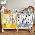 Alta qualidade Multi Camada de Algodão conjunto de cama de bebê pendurado saco de armazenamento portátil Multifuncional saco de Fraldas organizador de acessórios à prova d' água