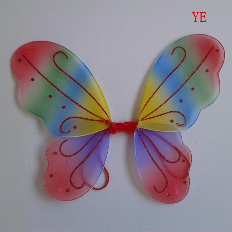 hot sales 1pc kids girl princess fairy butterfly wings halloween party decor 13 colorschina - Halloween Decoration Sales
