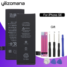 YILIZOMANA 1624mAh Mobile phone battery For iPhone 5 SE built-in lithium battery SE battery Free Removal Free Tool