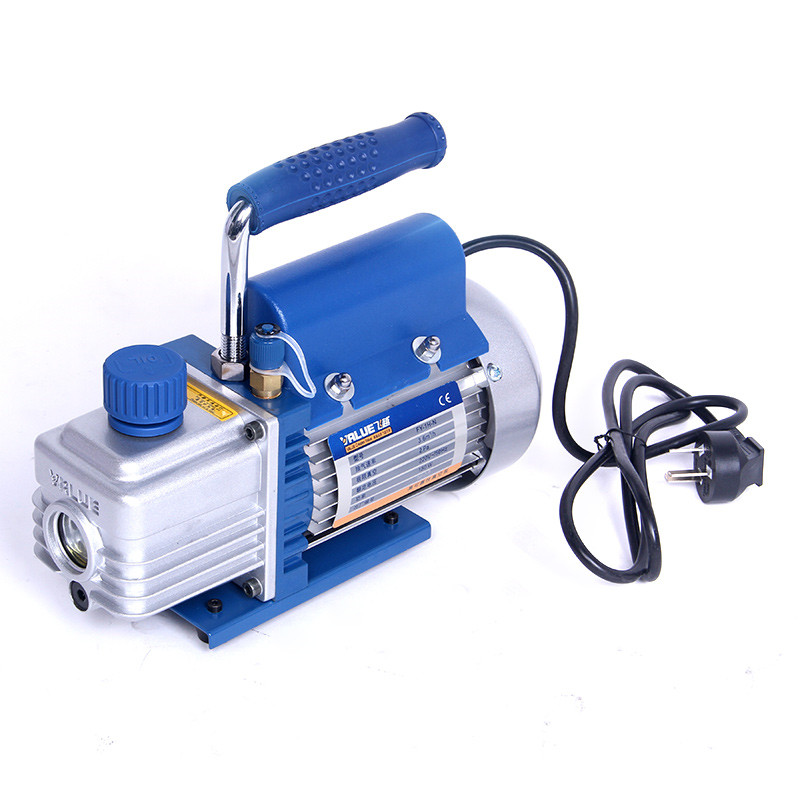 150W 2Pa Vacuum pump 1L FY-1C-N air conditioning refrigeration maintenance air conditioning pump / experimental mold vacuum 1l s 2 12cfm r134a rotary vane single stage mini vacuum pump for vacuum refrigeration air conditioning refrigerator