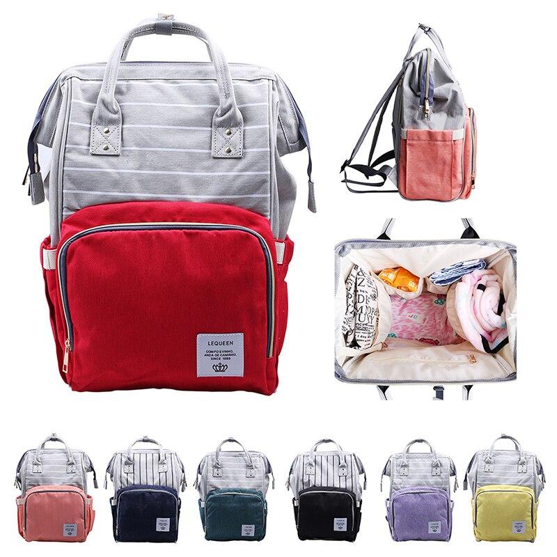 Summer Mummy Maternity Nappy Bag Brand Large Capacity Baby Bag Travel Backpack Designer Nursing Bag For Baby Care